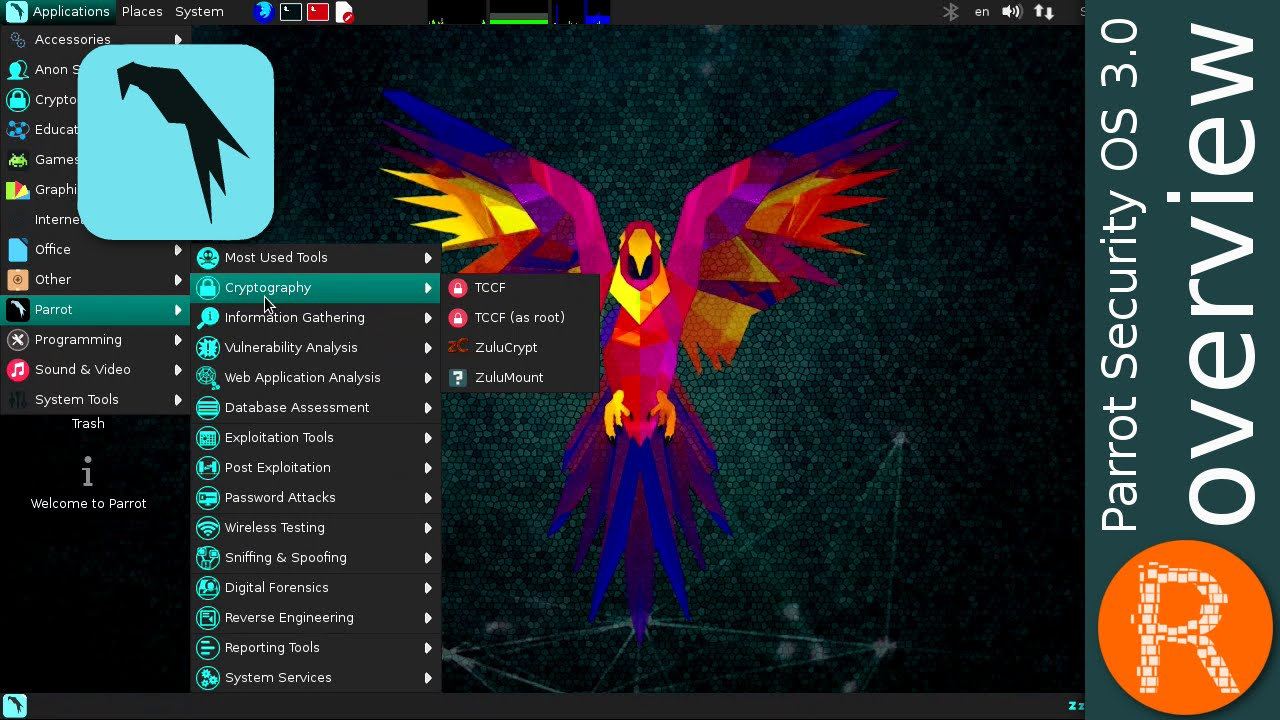 PARROT SECURITY OS