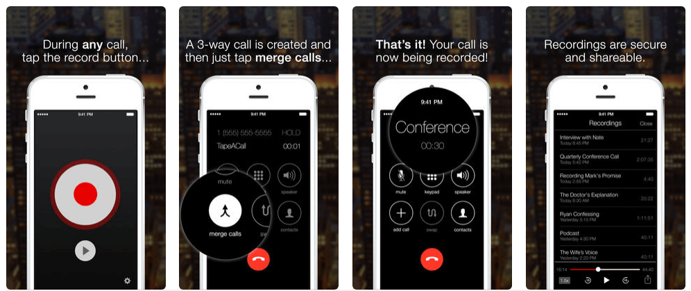 Top 7 Call Recording Apps for iPhone – Free and Paid iPhone Call Recorder Apps