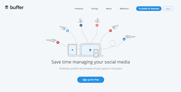 buffer social media marketing tool