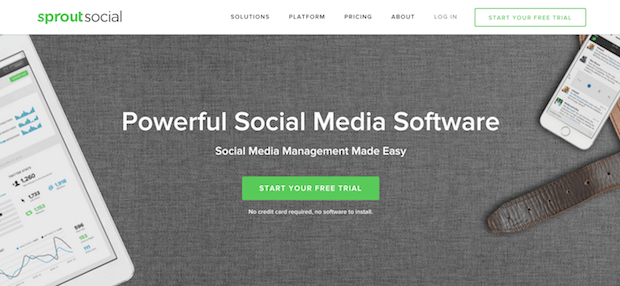 sproutsocial social media tool