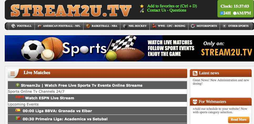 Best websites to watch live football free